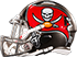 Sunday, November 11, 2001 - Tampa Bay Buccaneers Fan BUCS classic helmet