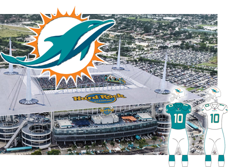 Miami Dolphins opponent of the Tampa Bay Buccaneers