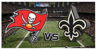 New Orleans Saints vs. The Tampa Bay Buccaneers BuccaneersFan Gameday