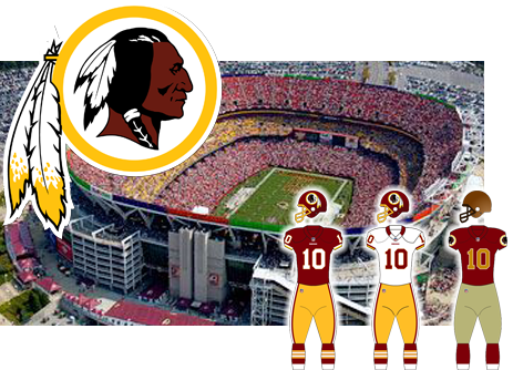 Washington Redskins opponent of the Tampa Bay Buccaneers