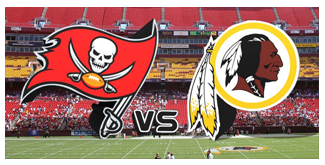 Washington Redskins vs. The Tampa Bay Buccaneers BuccaneersFan