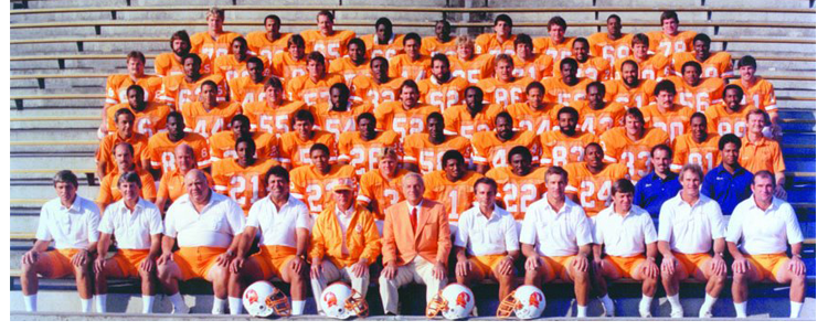 1983 Season 8 Tampa Buccaneers Team Picture