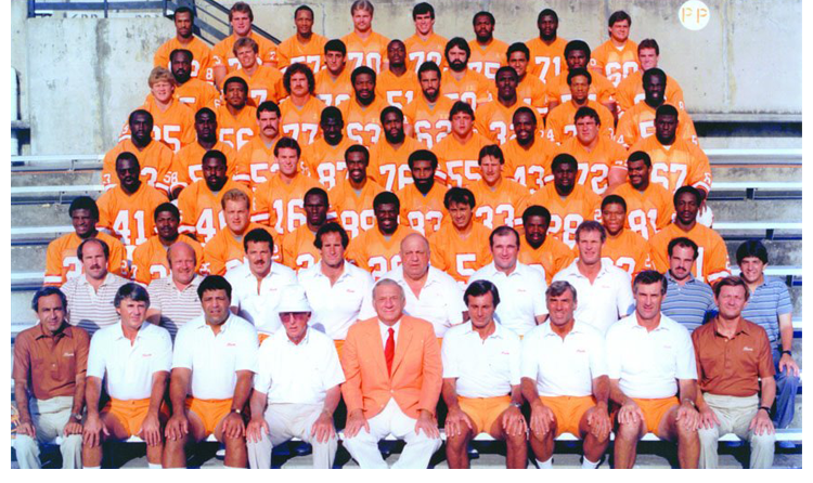 1984 Season 9 Tampa Buccaneers Team Picture
