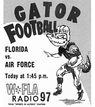 Gator Football Florida vs. Air Force WFLA Radio Promotional