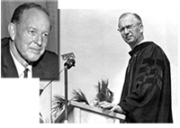 1961 Tampa Mayor Julian Lane and USF Dr. John Allen