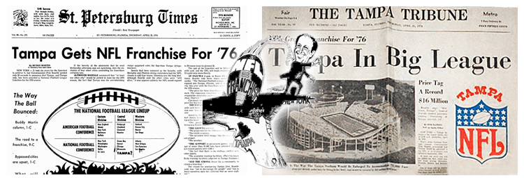April 24, 1974 - Tampa Awarded A NFL Franchise