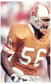 1993 Mr C Tribute on Buccaneers Uniform and Jersey #7