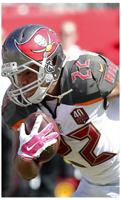 2015 Buccaneers jersey patch features the 40 Bucs seasons