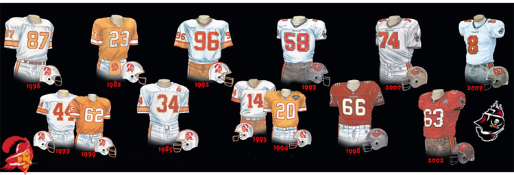 premium selection 9982f 981a7 Tampa Bay Buccaneers NFL Team Franchise Establisted in 1974