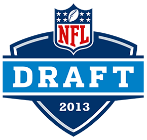 2013 NFL Draft Logo 1990 to Present
