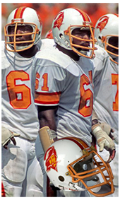 1976 Buccaneers Uniform and Jersey