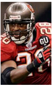 2008 Jersey featuring the new Buccaneers Uniform GU #63 patch memorial for Gene Upshaw